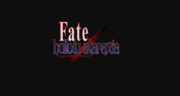 Fate Hollow Ataraxia Full Mobile Game Free Download