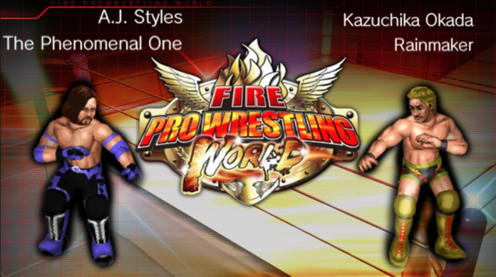 Fire Pro Wrestling World Full Mobile Game Free Download