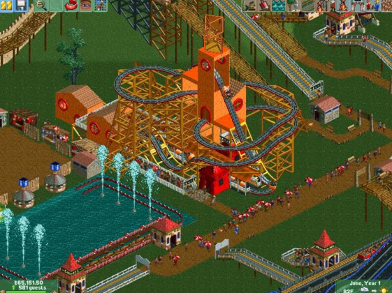 Rollercoaster Tycoon 2 Full Mobile Game Free Download