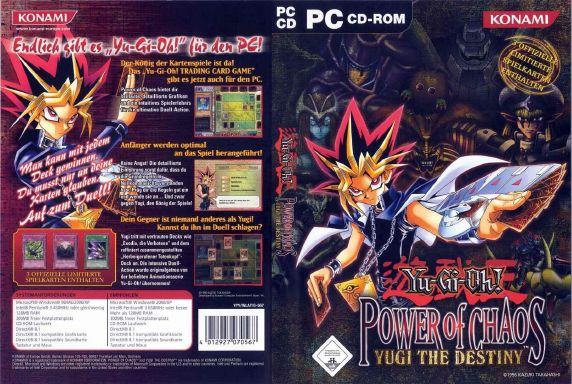 Yu-Gi-Oh! Power Of Chaos (Full 3 Games) PC Game Free Download